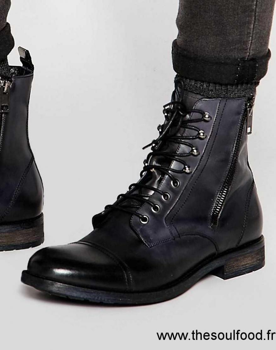 diesel kallien bottines homme noir chaussures diesel france on71001956. Black Bedroom Furniture Sets. Home Design Ideas