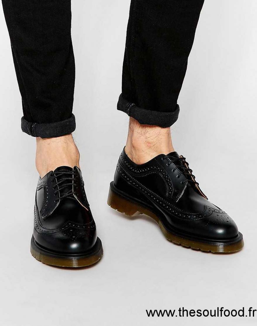 dr martens 3989 chaussures richelieu homme noir. Black Bedroom Furniture Sets. Home Design Ideas