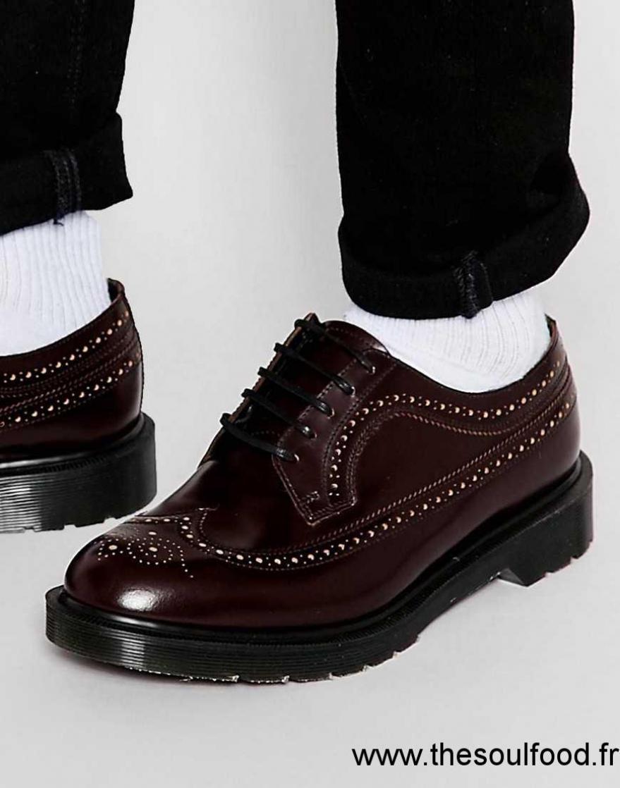 dr martens 3989 chaussures richelieu homme rouge. Black Bedroom Furniture Sets. Home Design Ideas