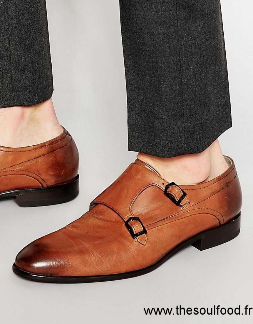 75f3590c726 Hugo Boss - Dresma - Chaussures Derby Homme Marron Chaussures