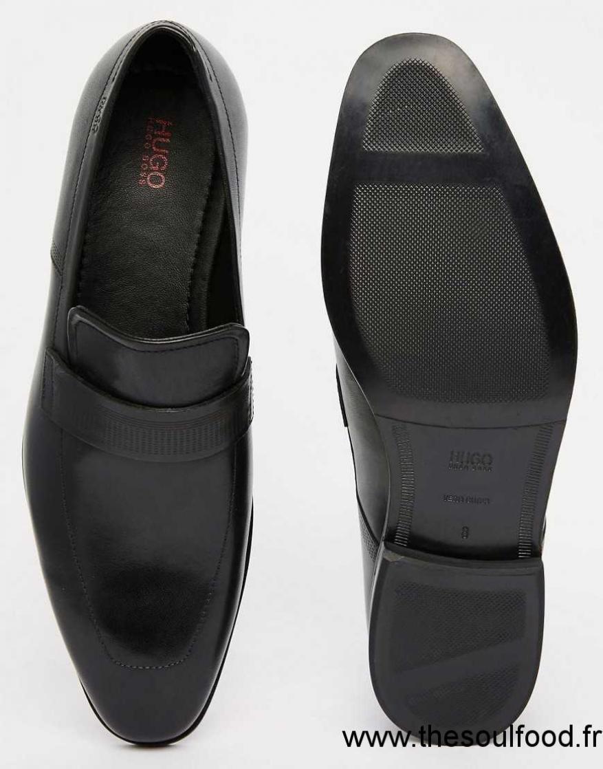 hugo by hugo squafer mocassins homme noir chaussures hugo boss france ld53002435. Black Bedroom Furniture Sets. Home Design Ideas
