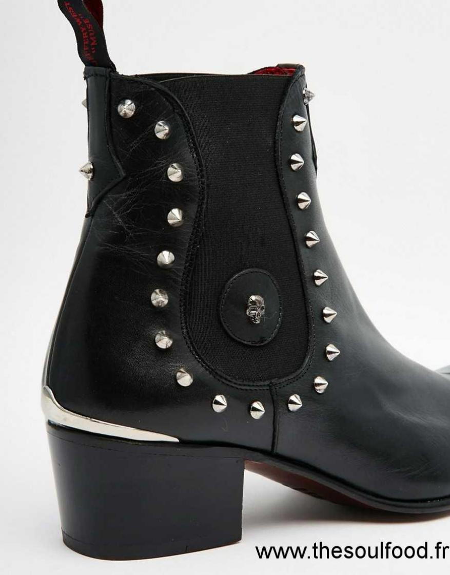 bottes cloutees homme
