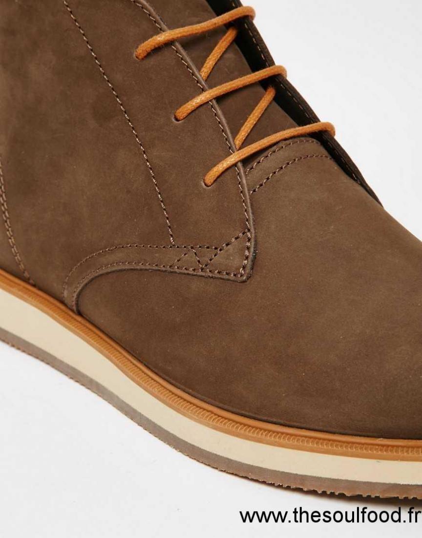 8af1ebe8a0f Lacoste - Millard - Bottines Chukka Homme Marron Chaussures ...