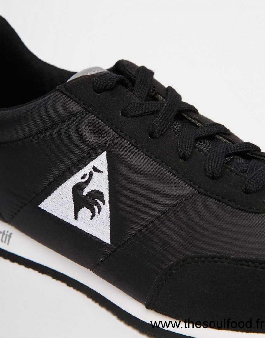 609c8e090c8 Le Coq Sportif - Racerone - Baskets Classiques Homme Noir Chaussures ...