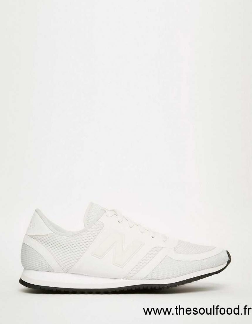 new balance hommes cuir blanc