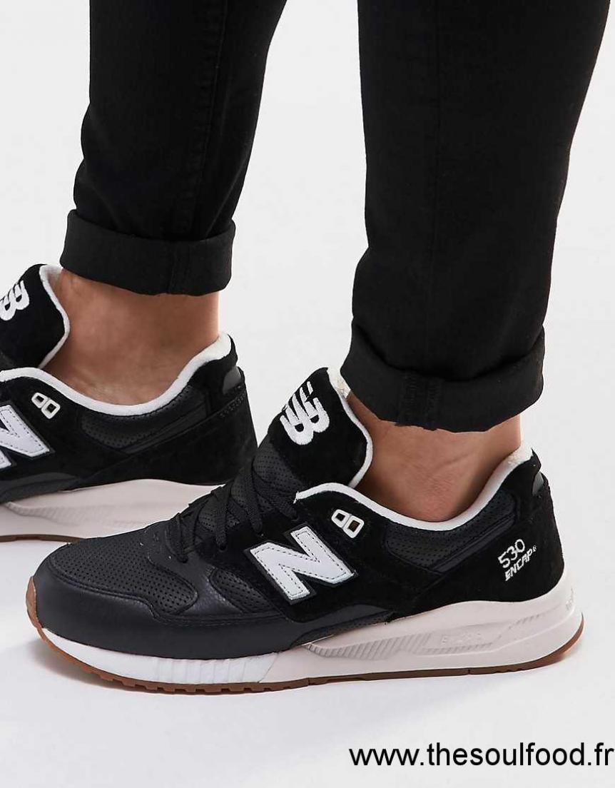 sélection premium 3e25c 82627 New Balance - 530 Gum - Baskets Homme Noir Chaussures | New ...