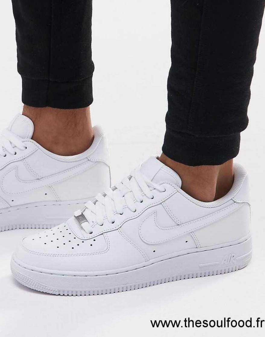 6c4da03a7d96 Nike - Air Force 1 '07 - Baskets 315122-111 Homme Blanc Chaussures   Nike  France VN61003357