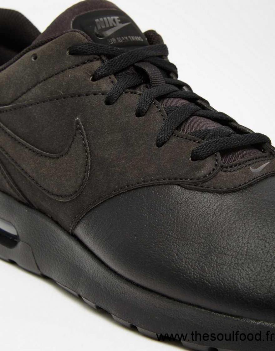 nike air max tavas 802611 002 baskets en cuir homme noir chaussures nike france sx62003390. Black Bedroom Furniture Sets. Home Design Ideas