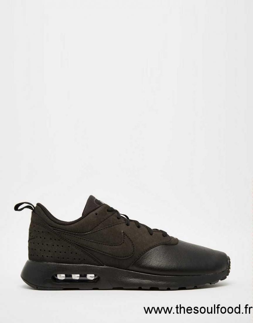 Cuir Tavas Homme 802611 002 Nike Max En Air Noir Baskets lKJFc1