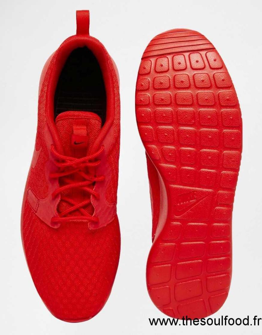 3d8dbd2e411ef Nike - Roshe One Hyp - Baskets 636220-660 Homme Rouge Chaussures | Nike  France UV49003343