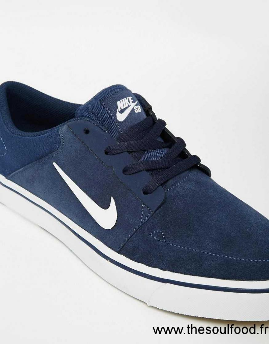 nike sb portmore baskets 725027 413 homme bleu chaussures nike sb france eb63003420. Black Bedroom Furniture Sets. Home Design Ideas