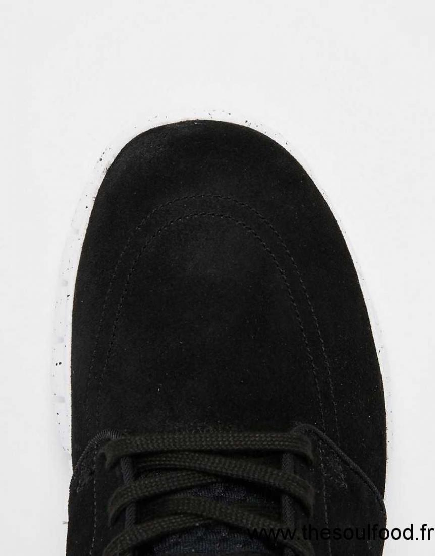 timeless design cc5aa 5ea2a Nike Sb - Stefan Janoski Max - Baskets En Cuir 685299-002 Homme Noir  Chaussures   Nike Sb France FQ58003415