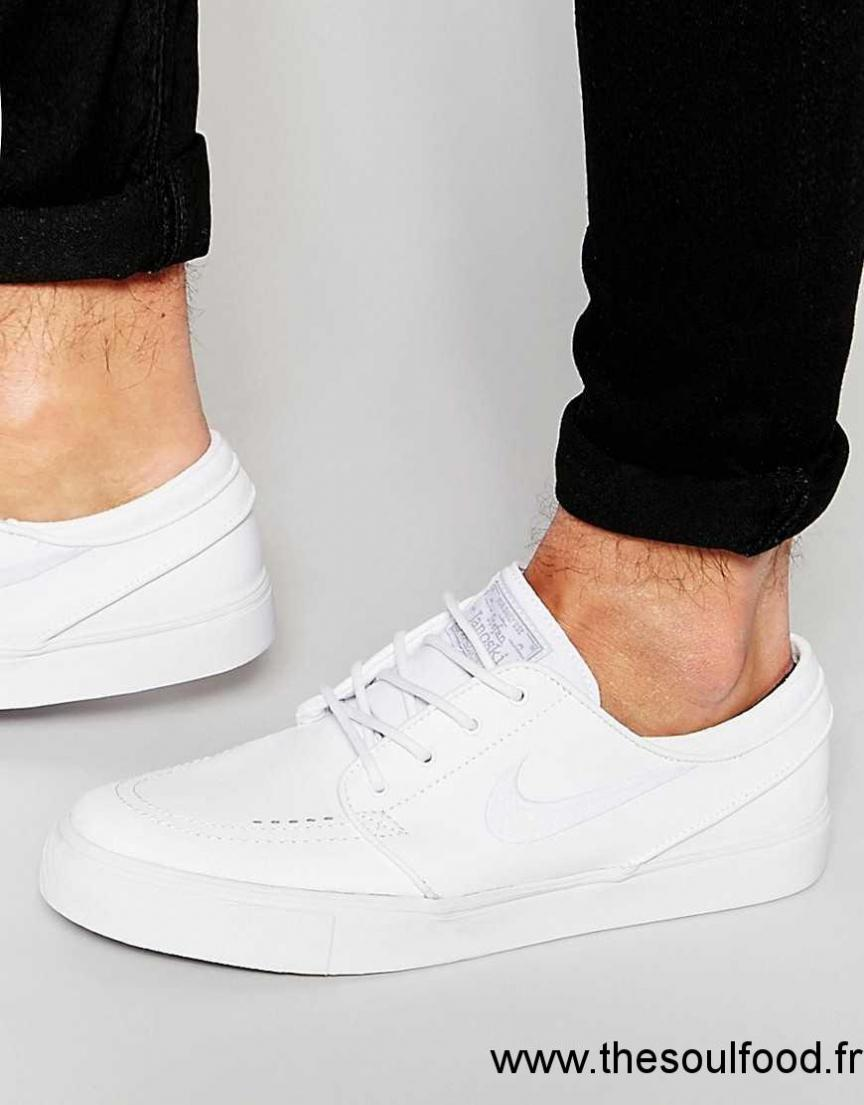 Chaussures Nike SB de Homme Zoom Stefan Janoski blanc