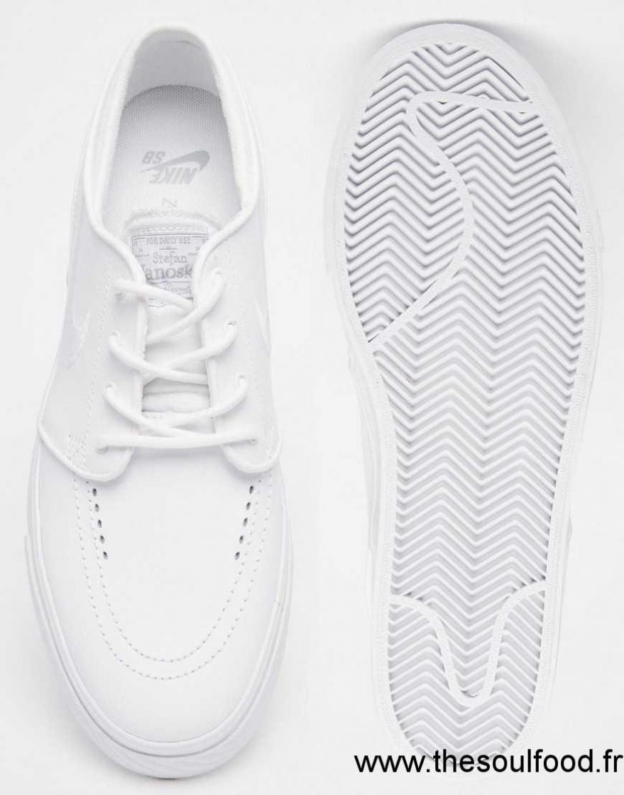 chaussure nike sb blanche ba5444