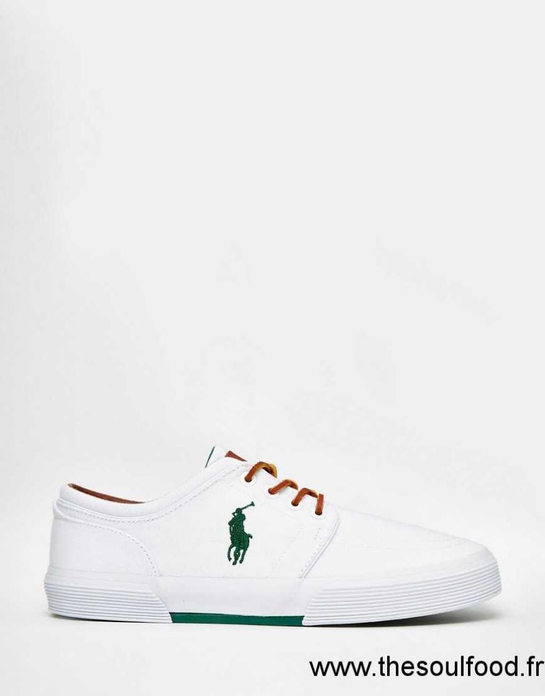 Lauren Faxon Homme Polo Chaussures Ralph Baskets Blanc iOXZuTPk