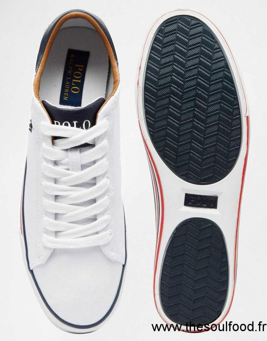 a0972ea1fbfc Ralph Basses Polo Lauren Homme Harvey Baskets Chaussures Blanc vqwHdAq