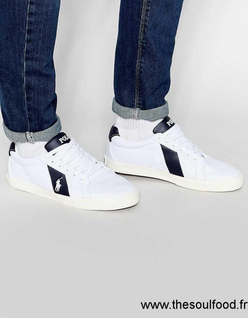 luxuriant dans la conception coupon de réduction capture chaussure ralph lauren blanc