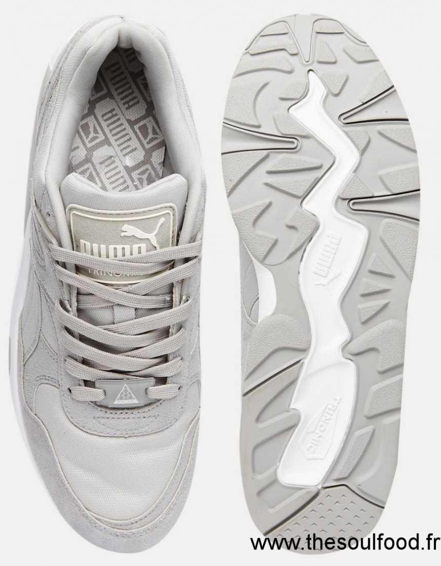 Zs05003691 Homme Gris Puma R698 Baskets ChaussuresFrance c4AL35jqR