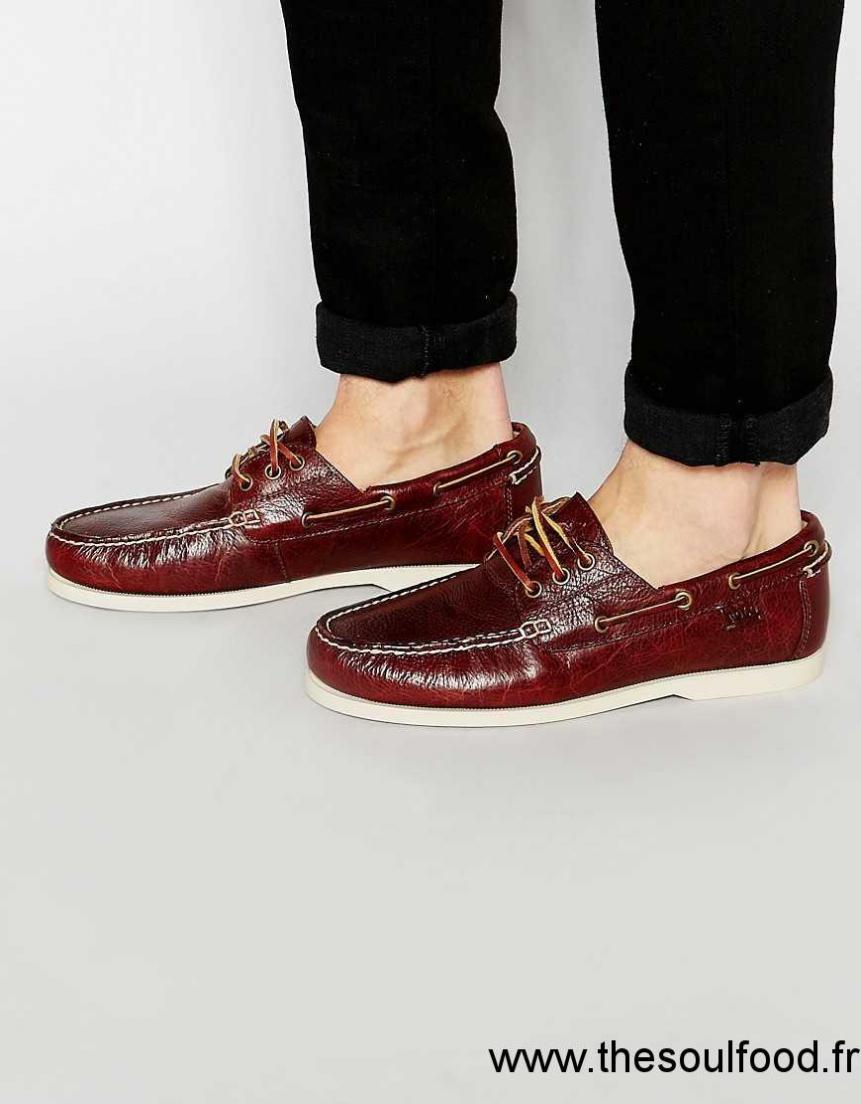 Ralph Lauren - Bienne - Chaussures Bateau En Daim Homme Fauve Chaussures   Polo  Ralph Lauren France XG67003505 c105001fa70