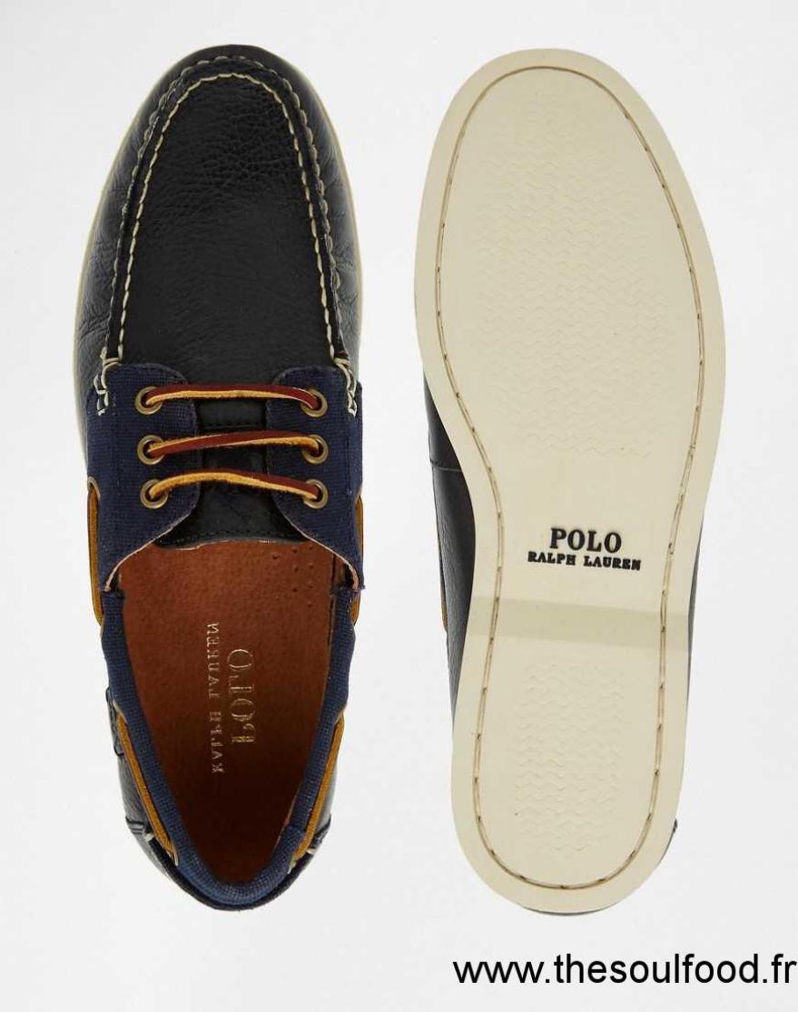 ralph lauren bienne ii chaussures bateau homme bleu. Black Bedroom Furniture Sets. Home Design Ideas