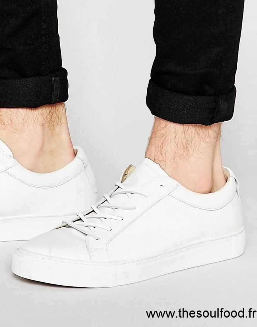 Shoe Bear En Homme Baskets Blanc Hiro Chaussures The Cuir QCdtshrx