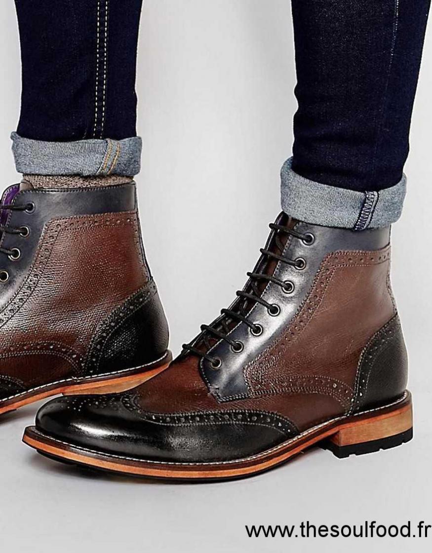 ted baker sealls bottines richelieu homme noir chaussures ted baker france hq67004187. Black Bedroom Furniture Sets. Home Design Ideas