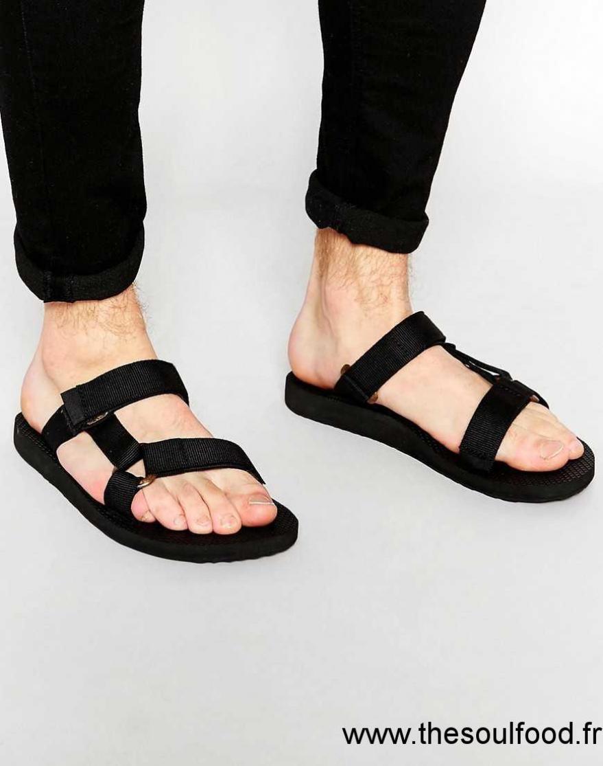 courir chaussures bien beaucoup à la mode Teva - Universal - Sandales À Enfiler Homme Noir Chaussures ...