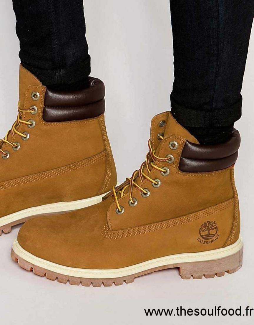 Timberland Bottines 6 Pouces Homme Marron Chaussures