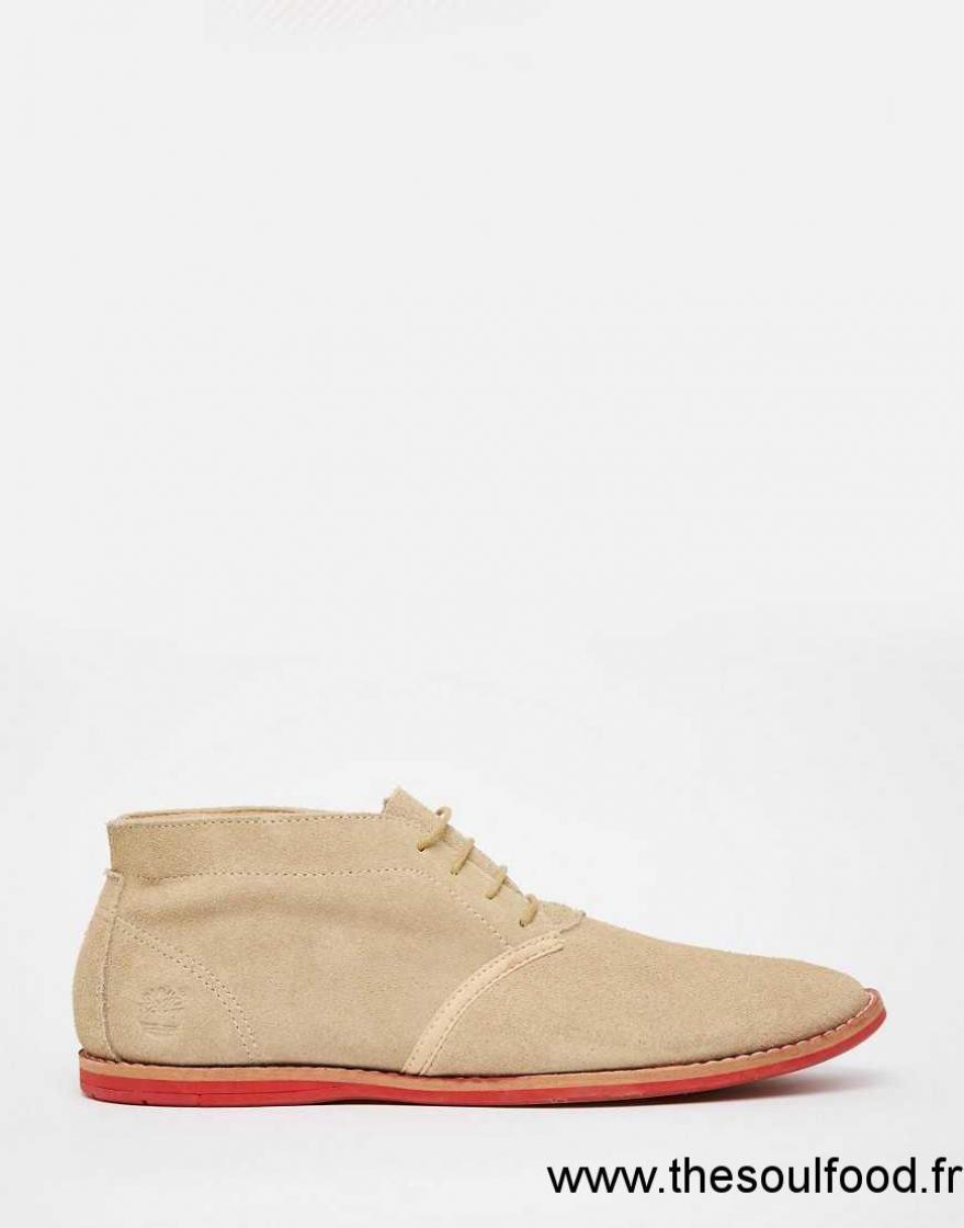 Timberland Bottines Chukka Homme Beige Chaussures | Timberland France AN93004286
