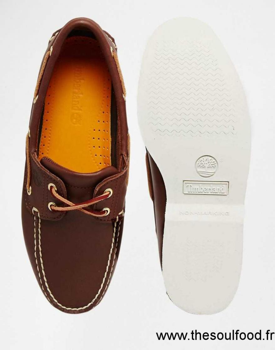 chaussure timberland homme marron