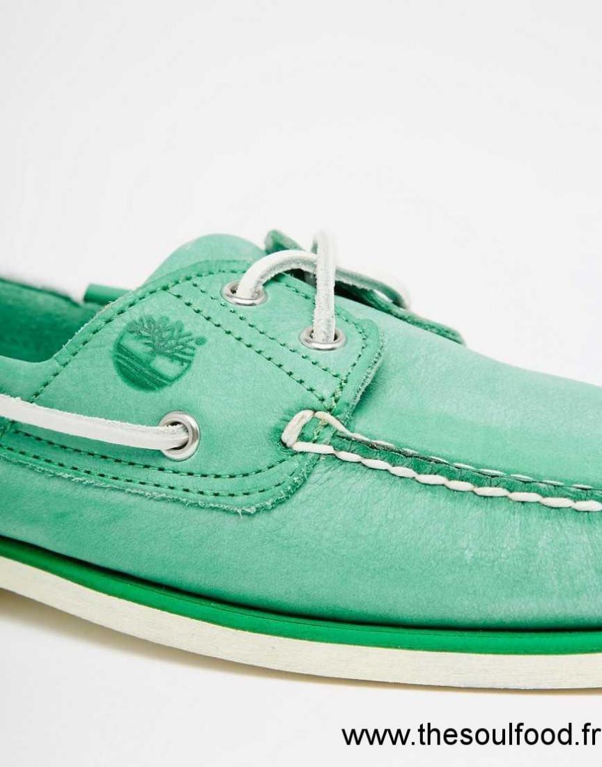 f0ddecc594b Classiques Timberland En Cuir Bateau Vert Wtwp805q Homme Chaussures BtEwy4xq