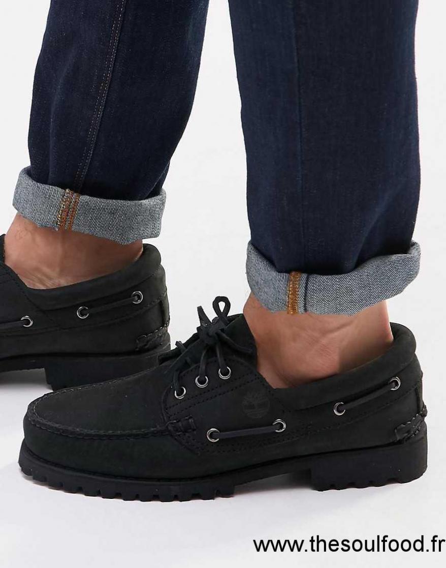 Chaussures Bateau Classiques 1qttwups Lug Timberland Homme Noir pTxqFndg