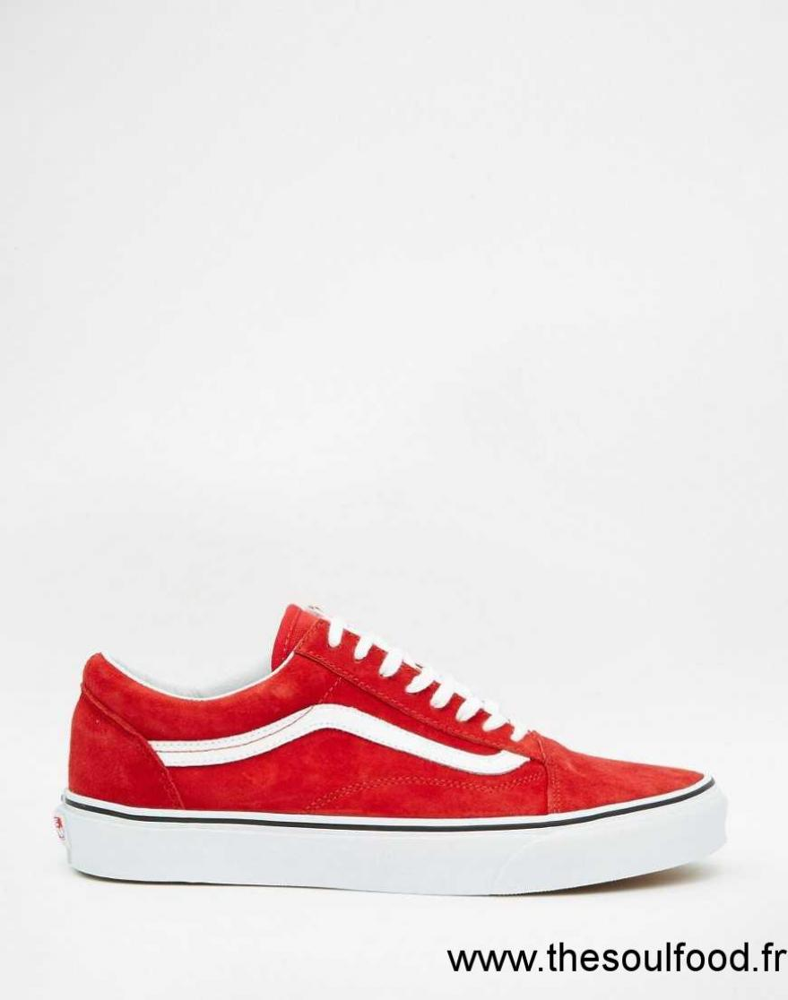 vans old skool v3z6i3n baskets rouge homme rouge chaussures vans france kx95004495. Black Bedroom Furniture Sets. Home Design Ideas