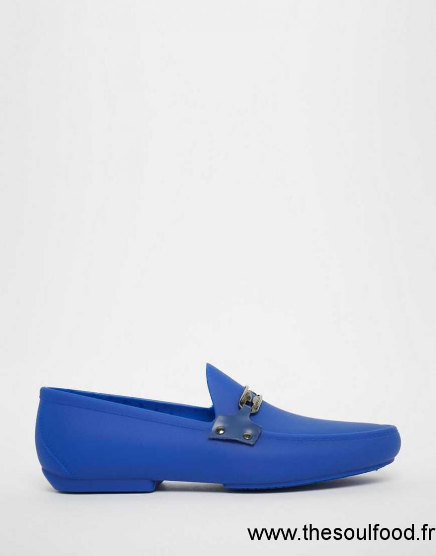 Vivienne Logo Avant Westwood Mocassins - Bleu Cpr228ty3