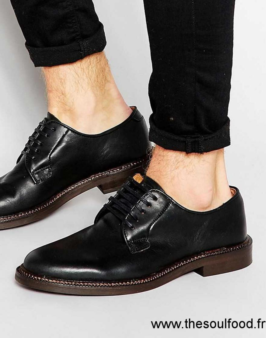 walk london darcy chaussures derby homme noir chaussures walk london france eo44004575. Black Bedroom Furniture Sets. Home Design Ideas